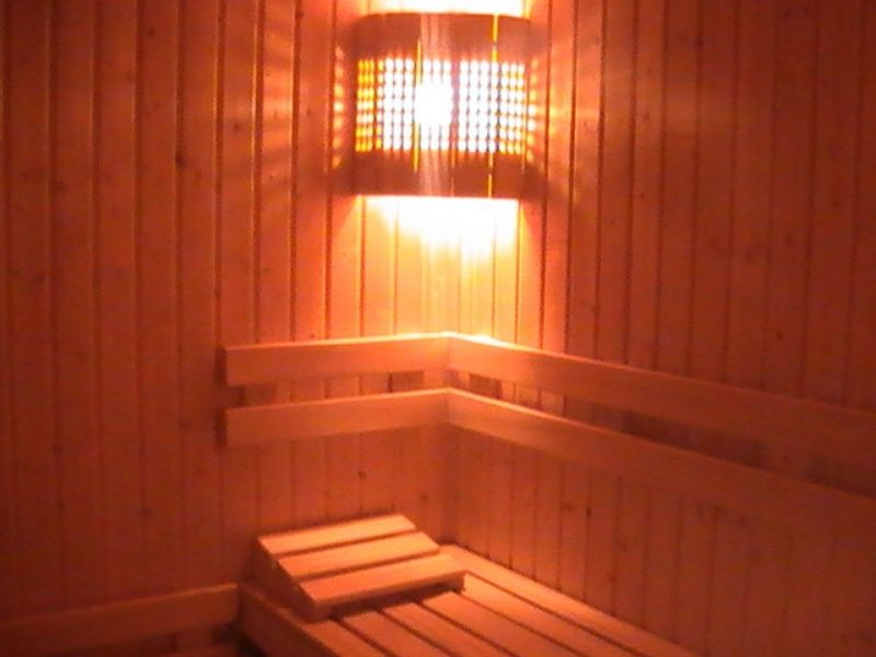 four leaf clover bansko sauna room