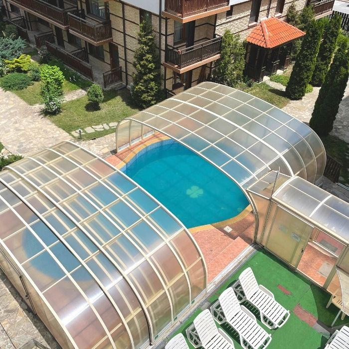 four leaf clover bansko summer apartments in bulgaria with a pool