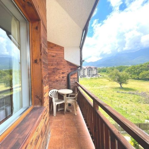 four leaf clover bansko apartments with balcony and view